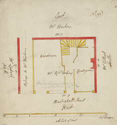 Plan of property on Basinghall Street